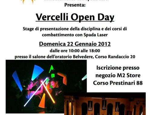 Open Day a Vercelli!
